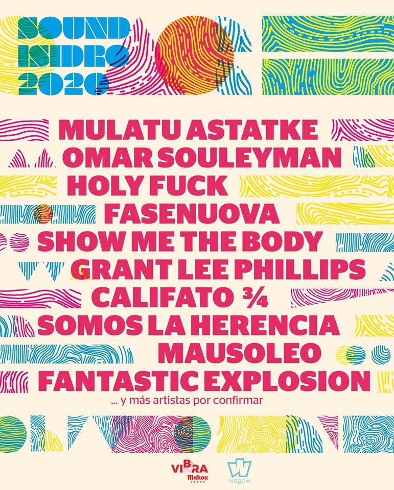 sound isidro 2020 avance cartel