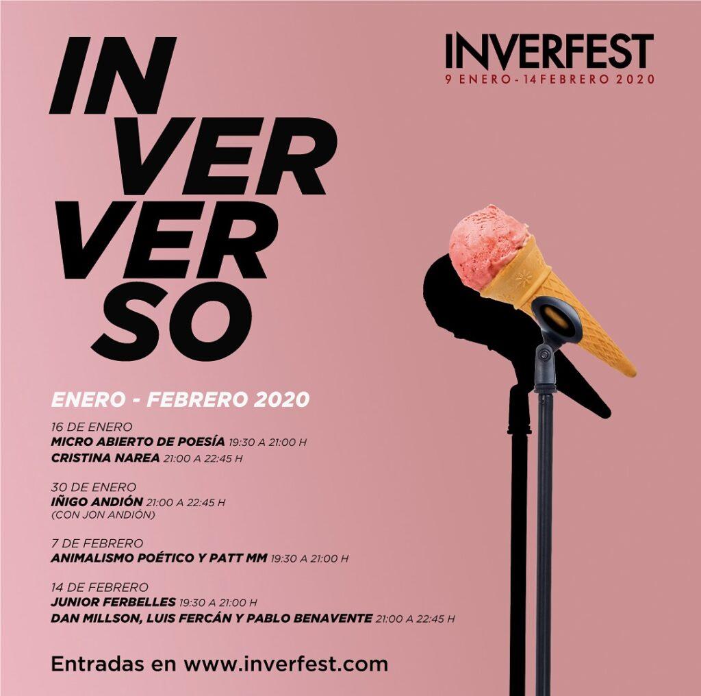 inverfest 2020 inververso poesia