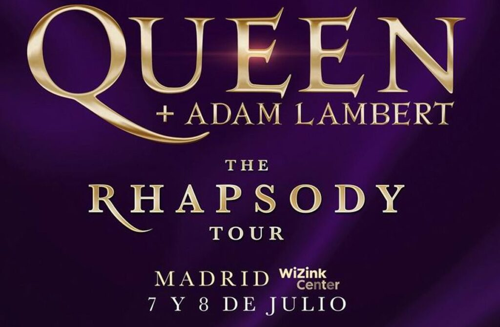 concierto queen madrid cartel 2020